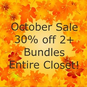 Other - 30% off 2+ Bundle Sale!!